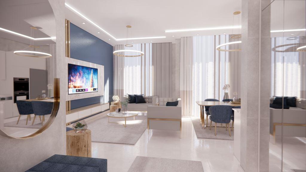 Инвестиционные апартаменты 1+1 в Авсаллар - Фото 13