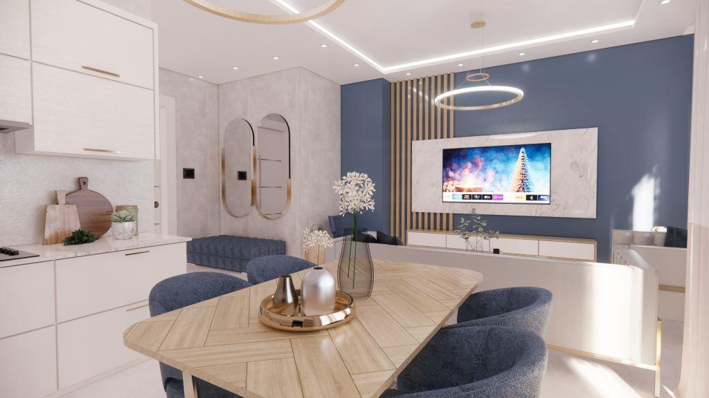 Инвестиционные апартаменты 1+1 в Авсаллар - Фото 14