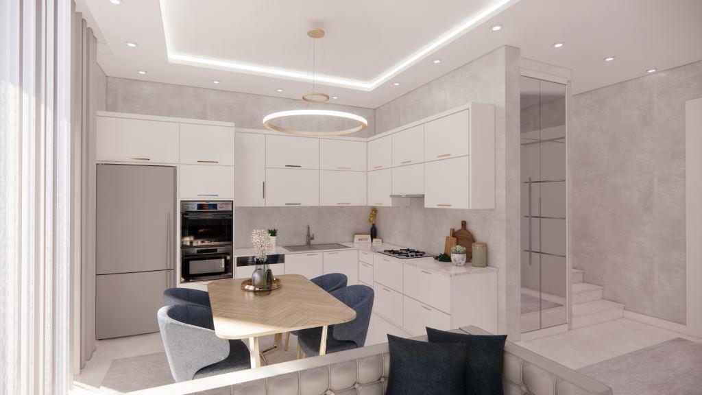 Инвестиционные апартаменты 1+1 в Авсаллар - Фото 15