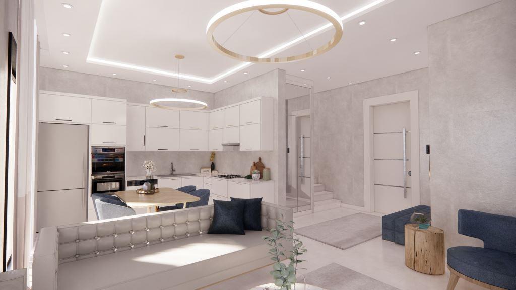 Инвестиционные апартаменты 1+1 в Авсаллар - Фото 18