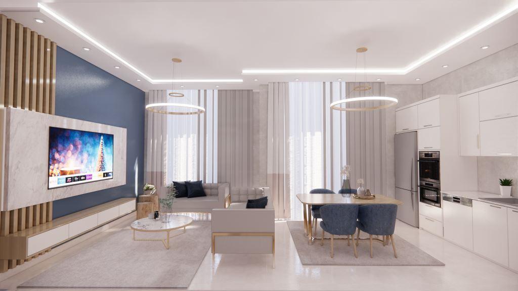 Инвестиционные апартаменты 1+1 в Авсаллар - Фото 19