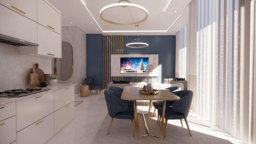 Инвестиционные апартаменты 1+1 в Авсаллар - Фото 20