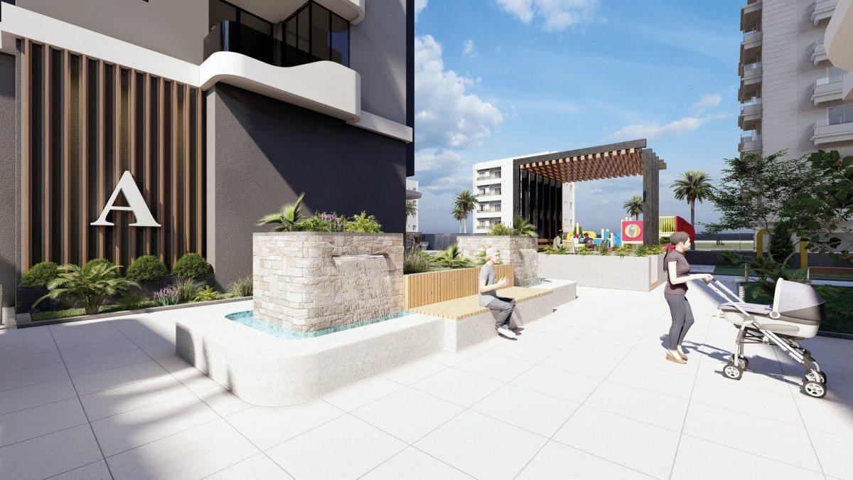 Квартиры в новом ЖК в центре Махмутлара - Фото 8
