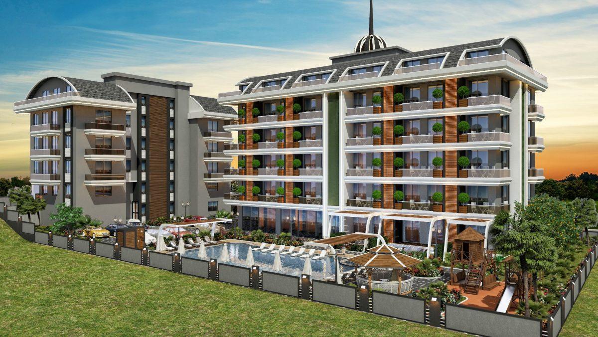 Квартиры в новом ЖК в районе Оба - Фото 1