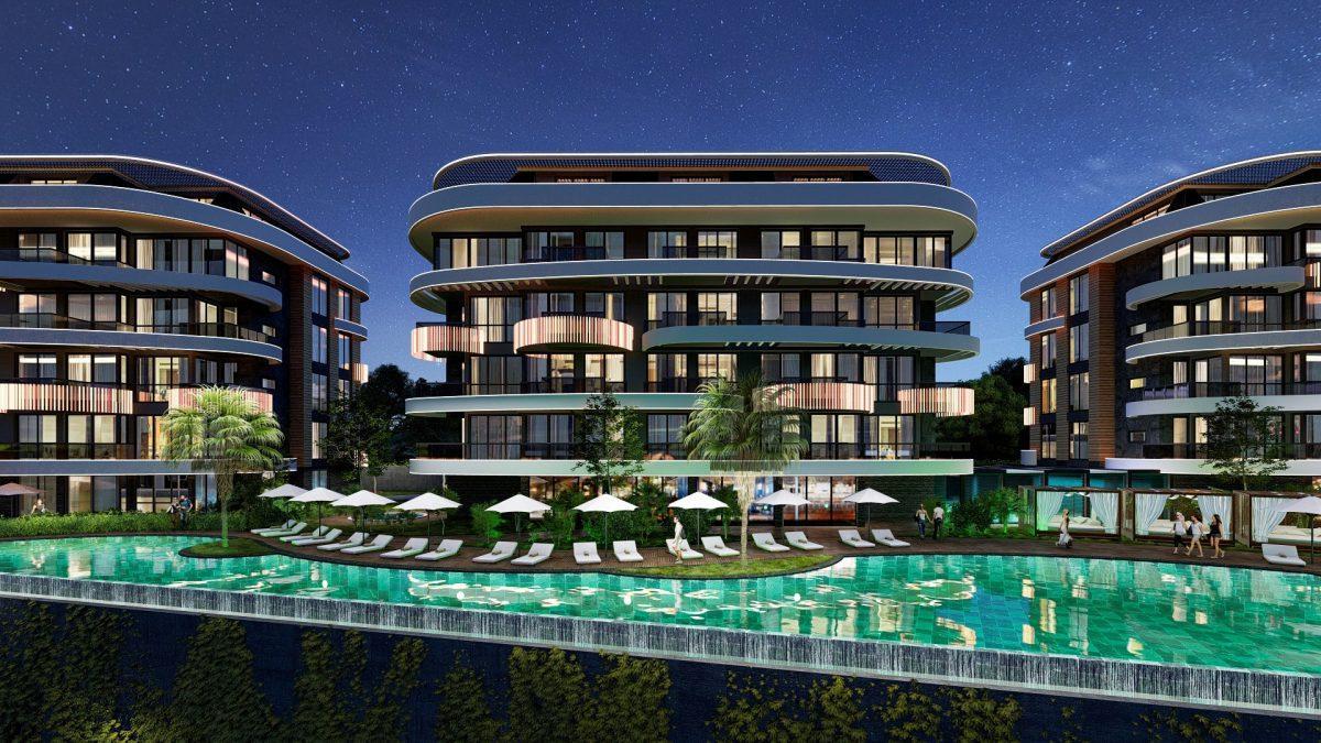 Новые апартаменты в люксовом комплексе в Кестеле - Фото 6