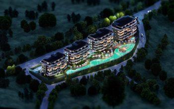 Новые апартаменты в люксовом комплексе в Кестеле