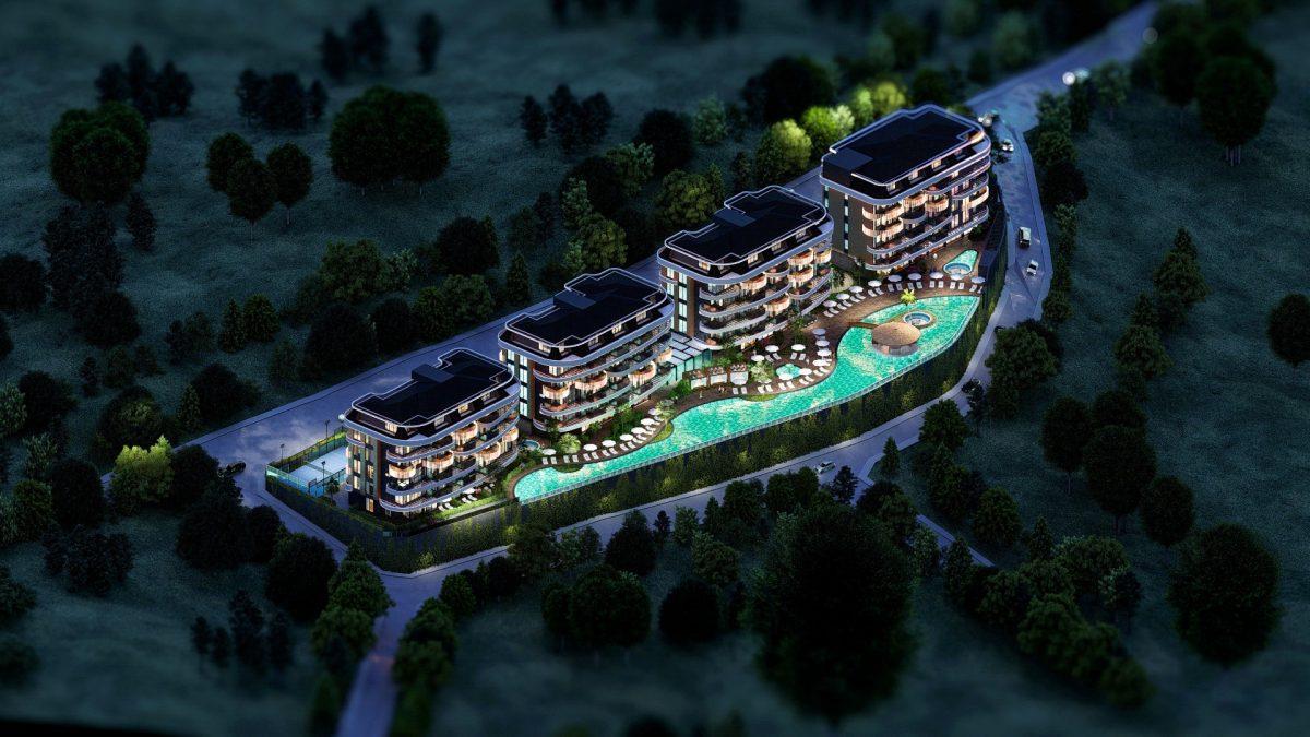 Новые апартаменты в люксовом комплексе в Кестеле - Фото 1