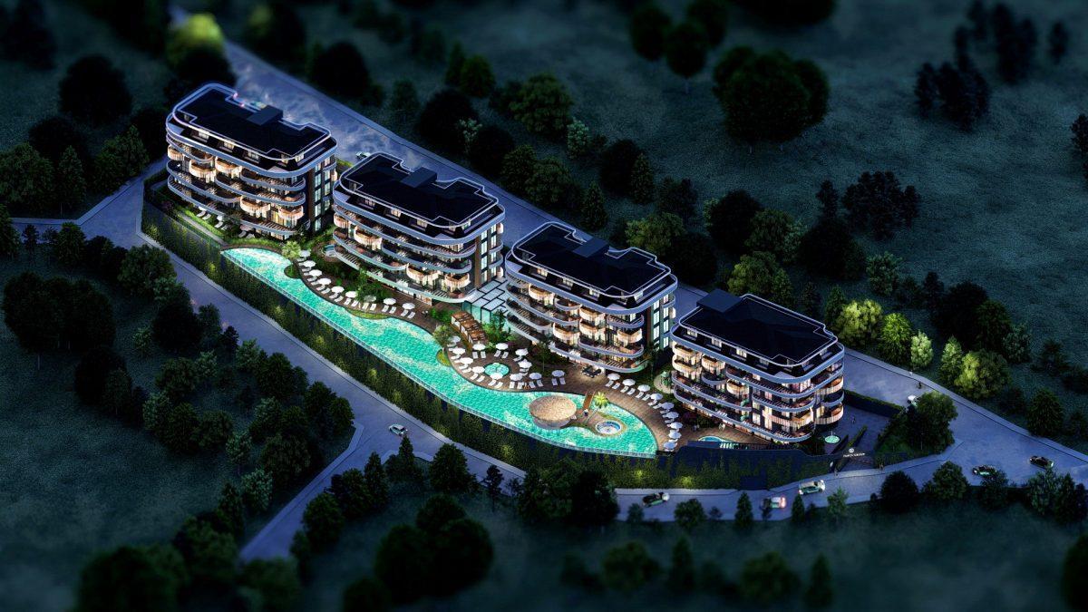 Новые апартаменты в люксовом комплексе в Кестеле - Фото 2