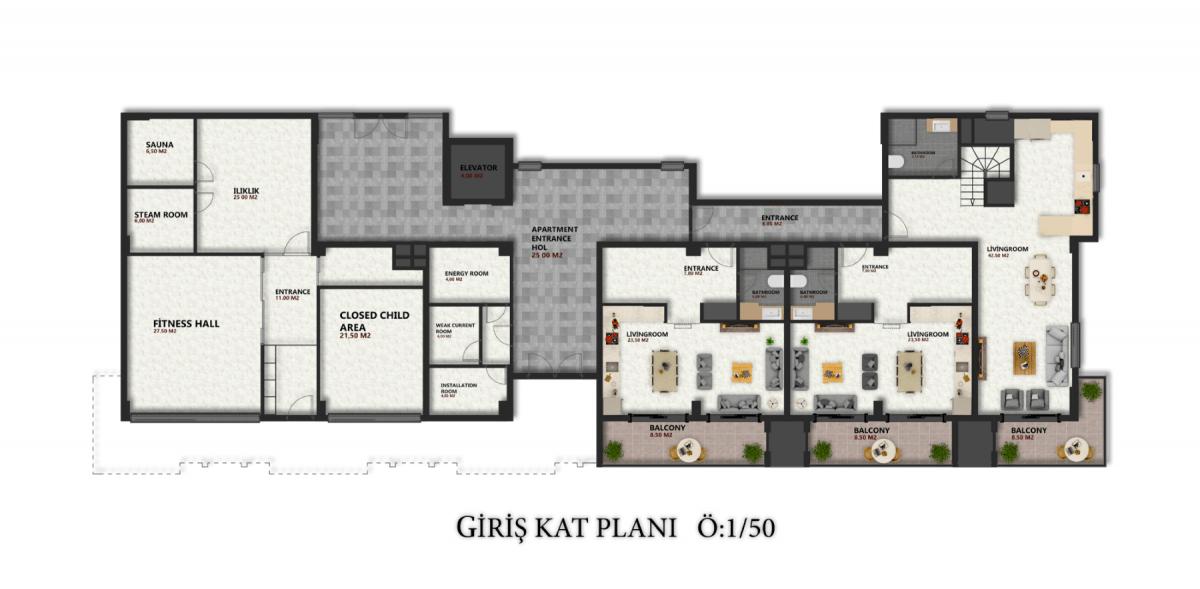 Квартиры в новом ЖК в районе Оба - Фото 24