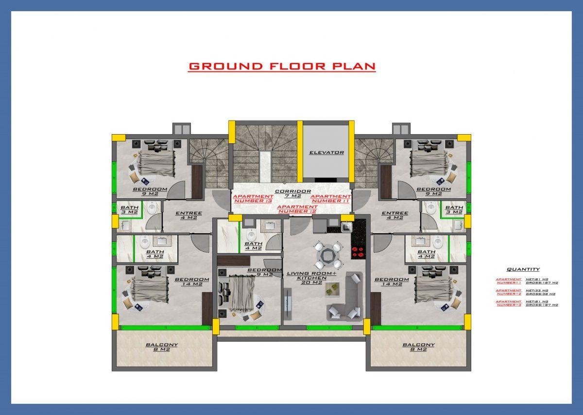 Апартаменты в новом ЖК в центре Кестеля - Фото 56