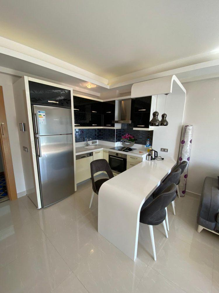 Апартаменты 1+1 в люксовом ЖК в районе Махмутлар - Фото 2