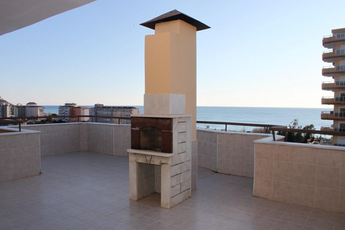 Меблированный пентхаус с видом на море в Махмутларе - Фото 21