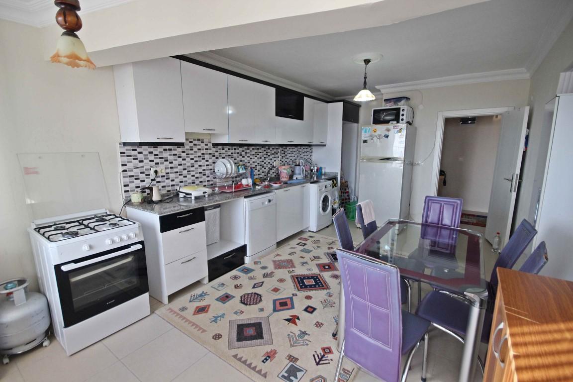 Просторная квартира с отдельной кухней в центре Алании - Фото 8