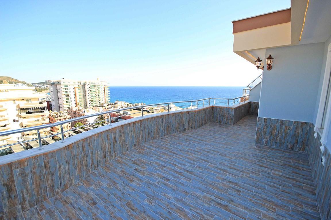Дуплекс планировкой 4 +1 с видом на Средиземное море - Фото 22