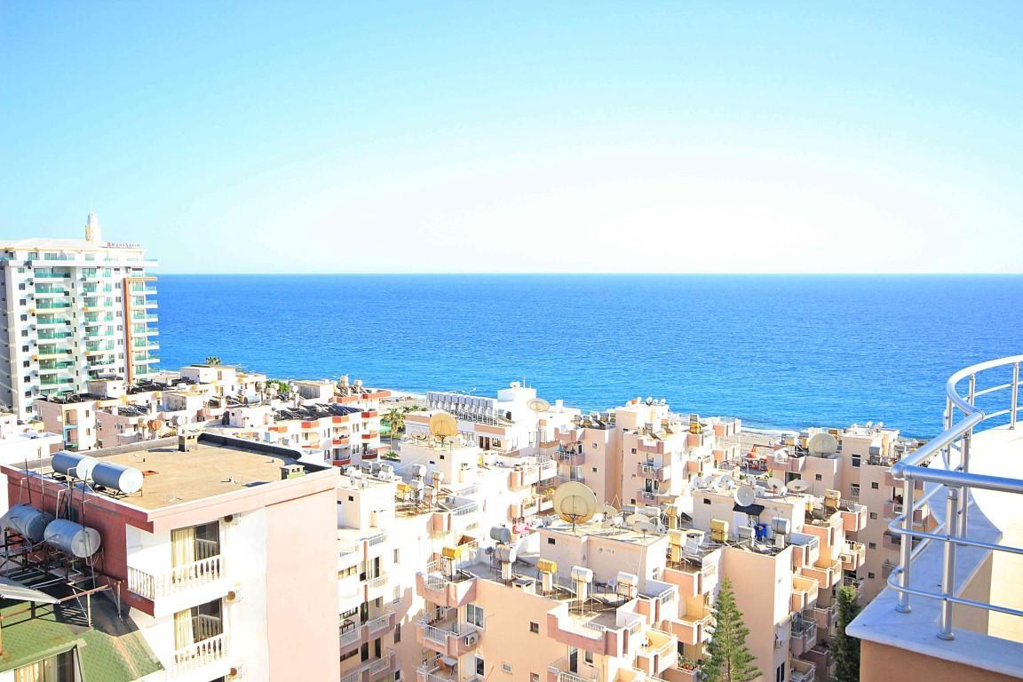 Дуплекс планировкой 4 +1 с видом на Средиземное море - Фото 24