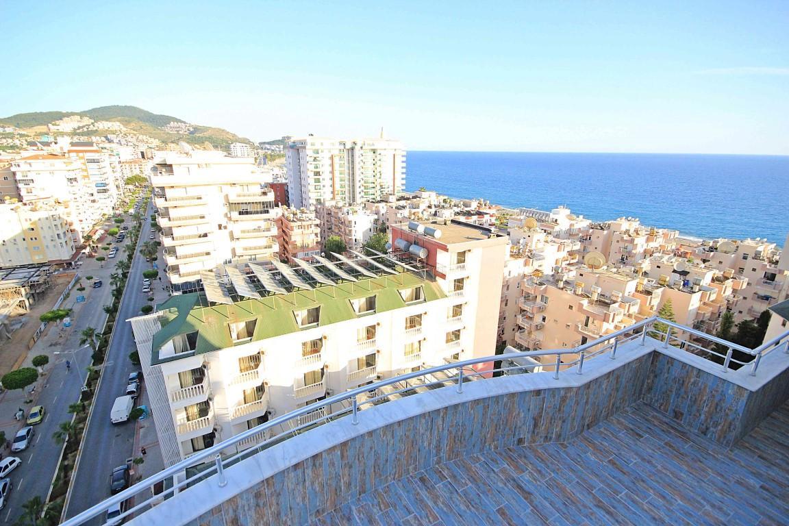 Дуплекс планировкой 4 +1 с видом на Средиземное море - Фото 26