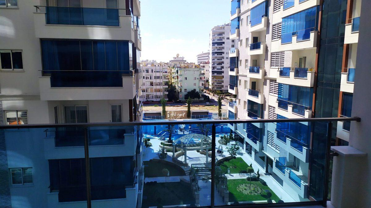 Новые апартаменты 1+1  с инфраструктурой отеля в Махмутларе - Фото 8