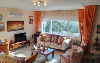 Просторные апартаменты 3+1 с панорамным видом в Каргыджак