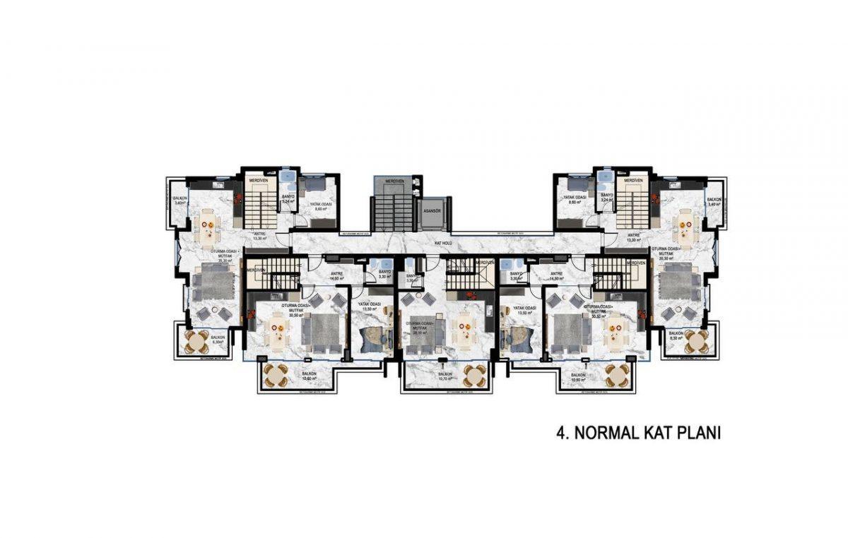 Квартиры в современном ЖК в Кестеле - Фото 23