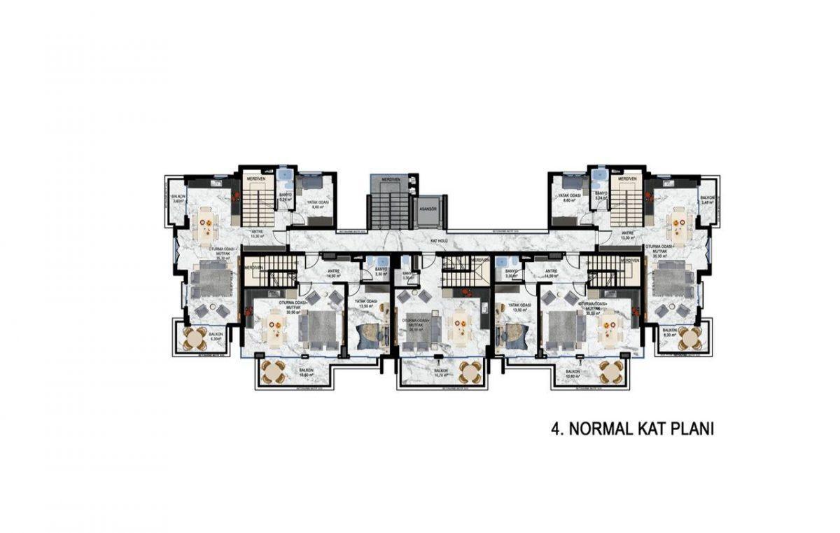 Квартиры в современном ЖК в Кестеле - Фото 26