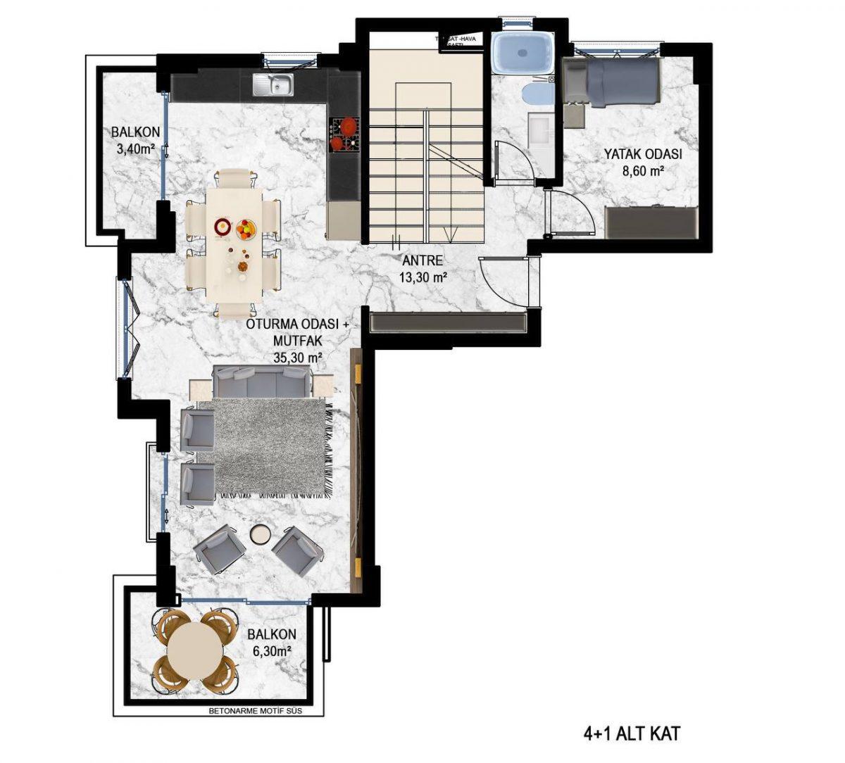 Квартиры в современном ЖК в Кестеле - Фото 18