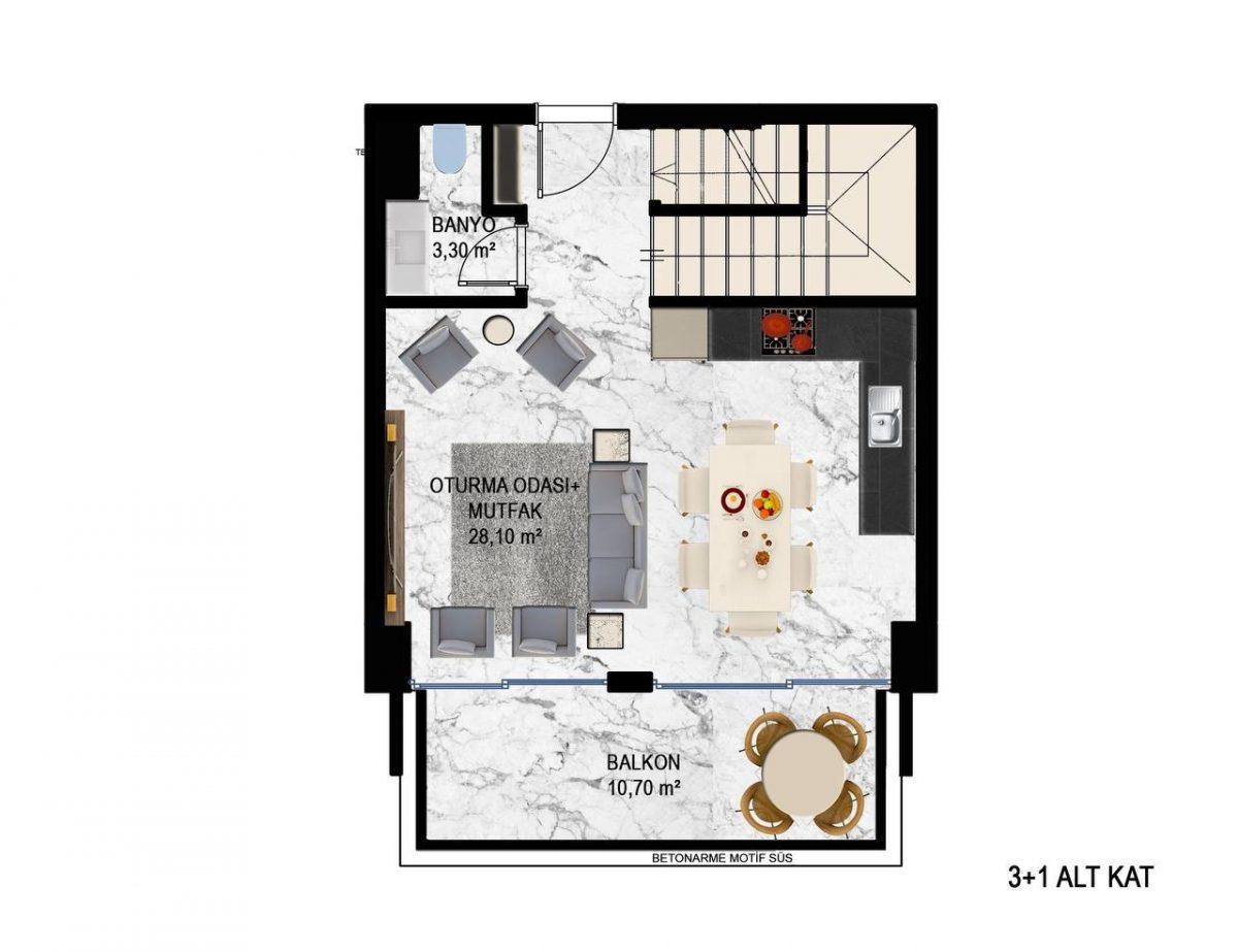 Квартиры в современном ЖК в Кестеле - Фото 19