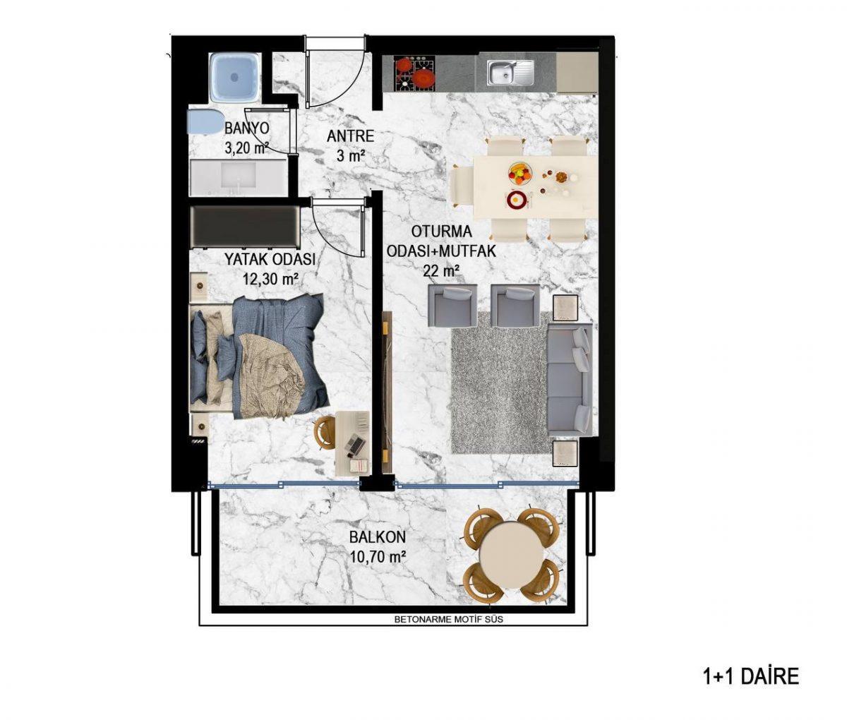 Квартиры в современном ЖК в Кестеле - Фото 21