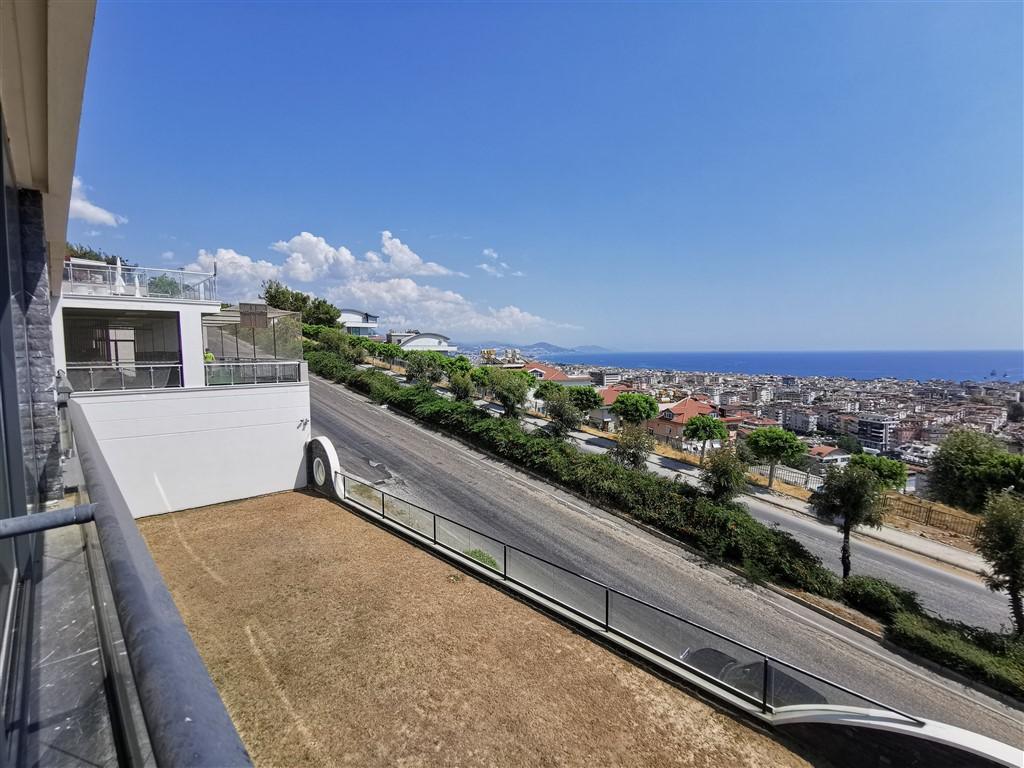 Апартаменты 2+1 с панорамным видом на Аланию - Фото 38