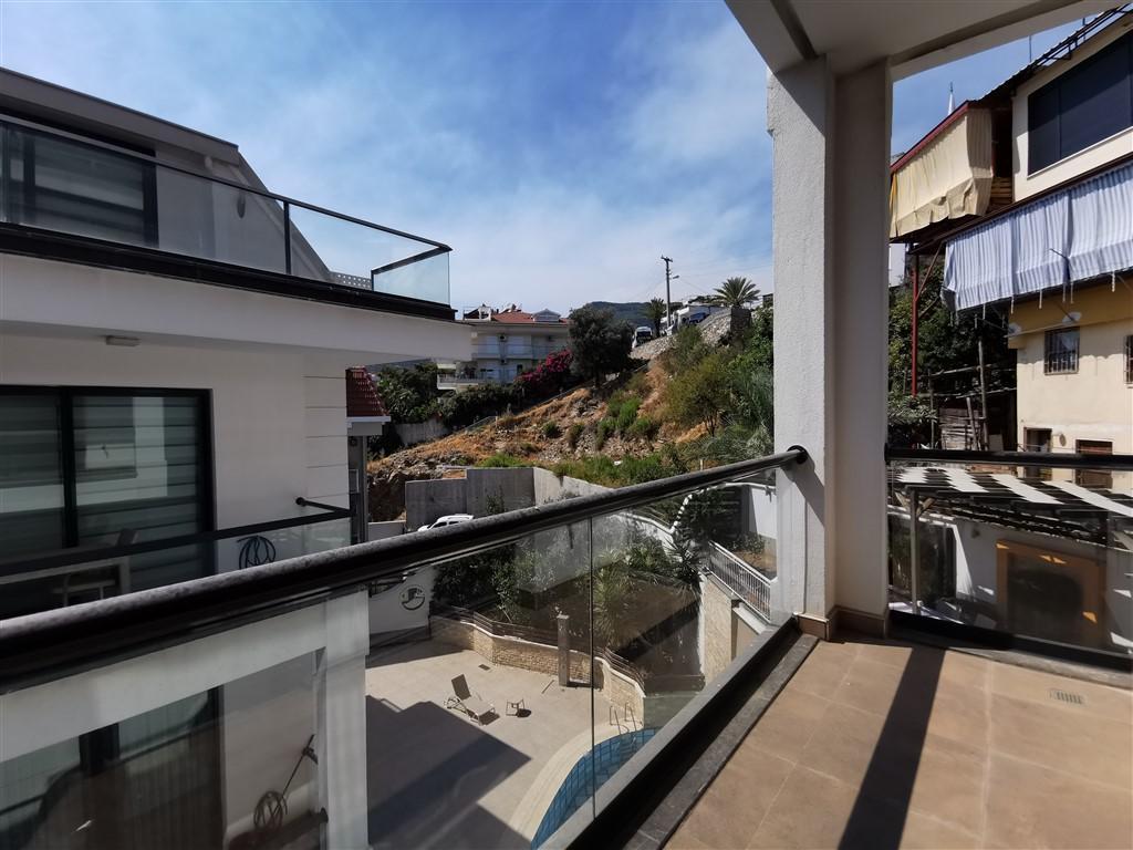 Апартаменты 2+1 с панорамным видом на Аланию - Фото 39