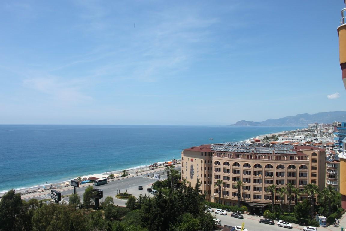 Трехкомнатная квартира с прямым видом на море в Махмутларе - Фото 23