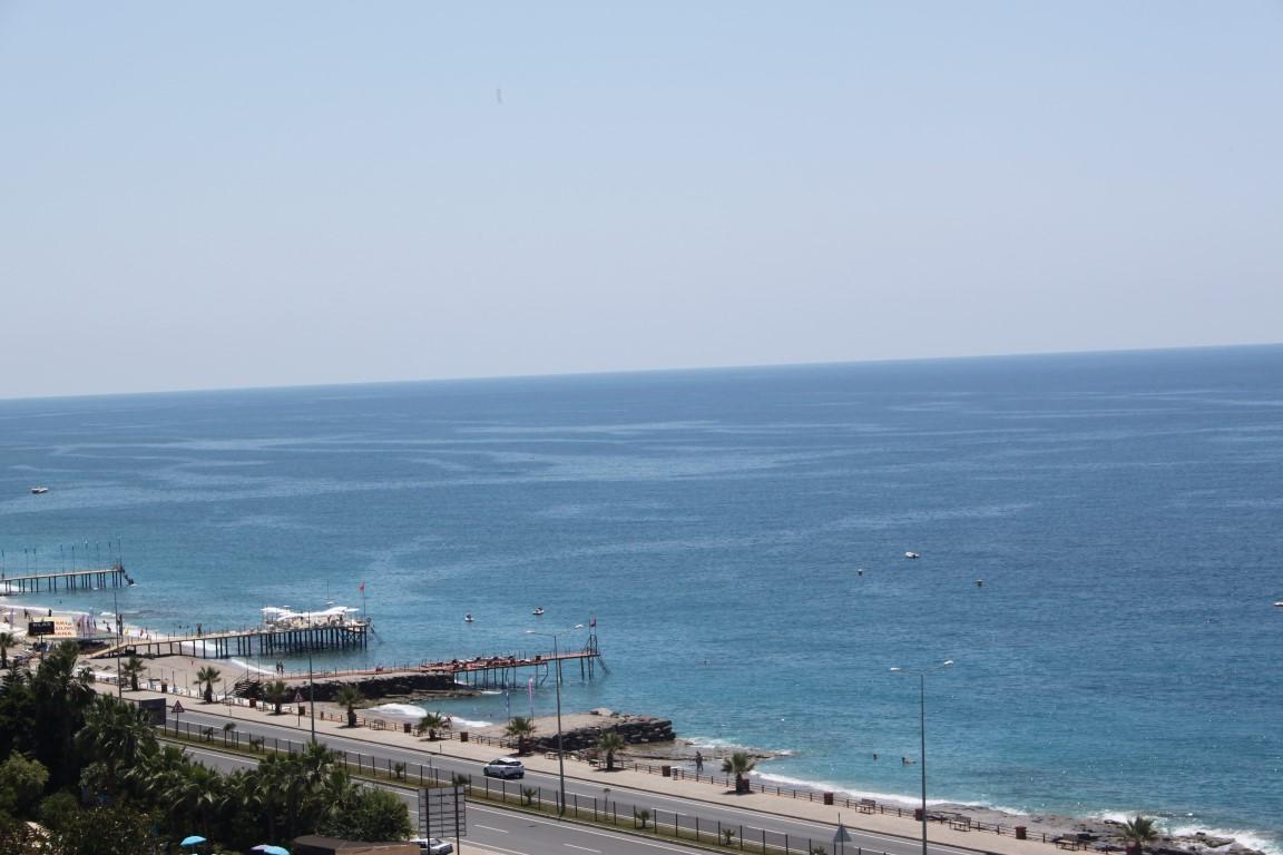 Трехкомнатная квартира с прямым видом на море в Махмутларе - Фото 26