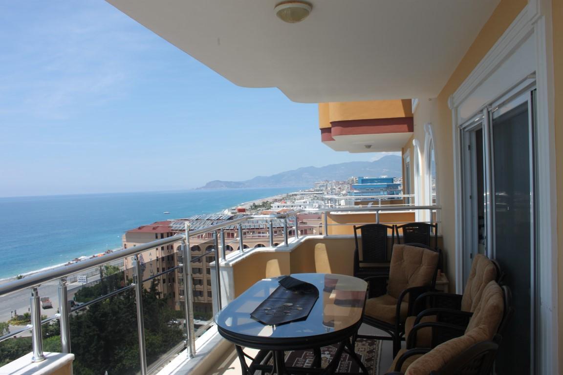 Трехкомнатная квартира с прямым видом на море в Махмутларе - Фото 27