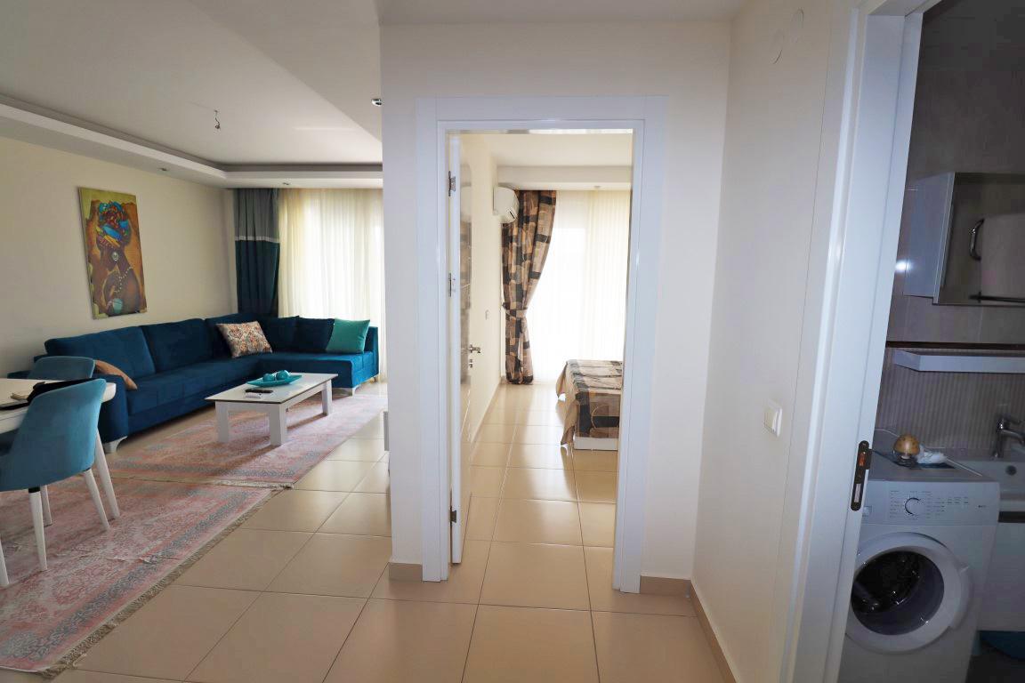 Квартира 1+1 с мебелью и техникой в комплексе люкс в Кестеле - Фото 6