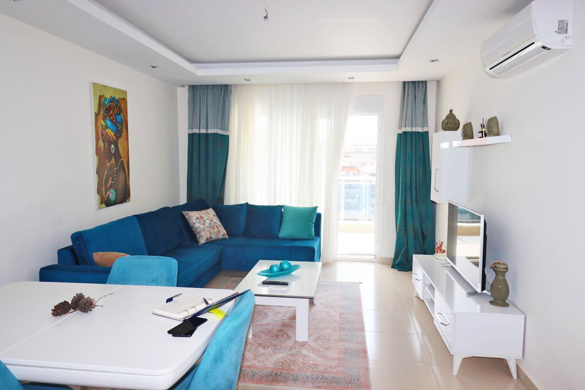 Квартира 1+1 с мебелью и техникой в комплексе люкс в Кестеле - Фото 7