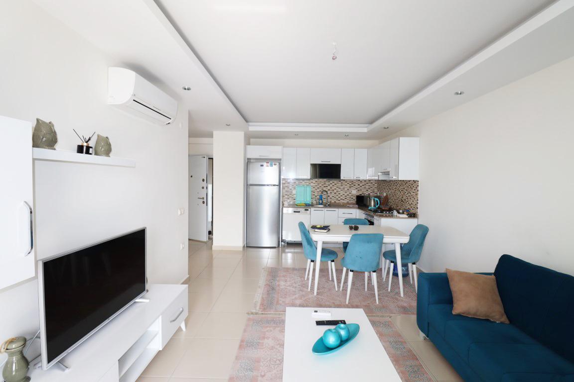 Квартира 1+1 с мебелью и техникой в комплексе люкс в Кестеле - Фото 8