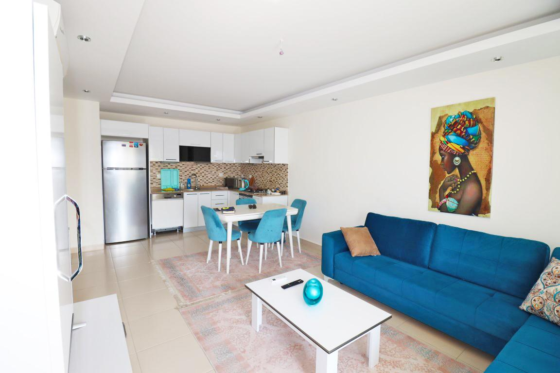 Квартира 1+1 с мебелью и техникой в комплексе люкс в Кестеле - Фото 9