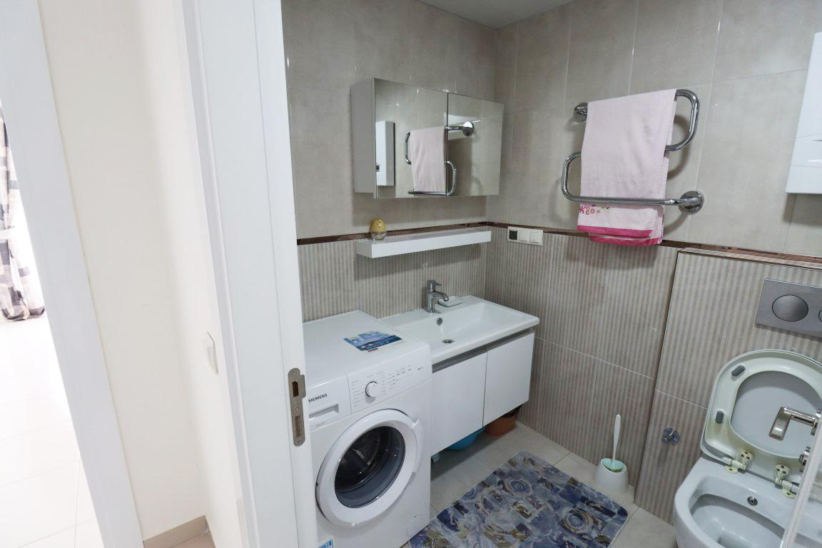 Квартира 1+1 с мебелью и техникой в комплексе люкс в Кестеле - Фото 12