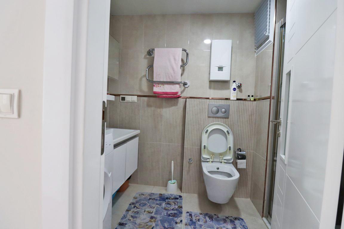 Квартира 1+1 с мебелью и техникой в комплексе люкс в Кестеле - Фото 13