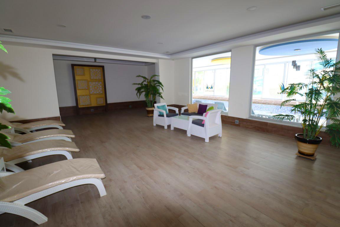Квартира 1+1 с мебелью и техникой в комплексе люкс в Кестеле - Фото 19
