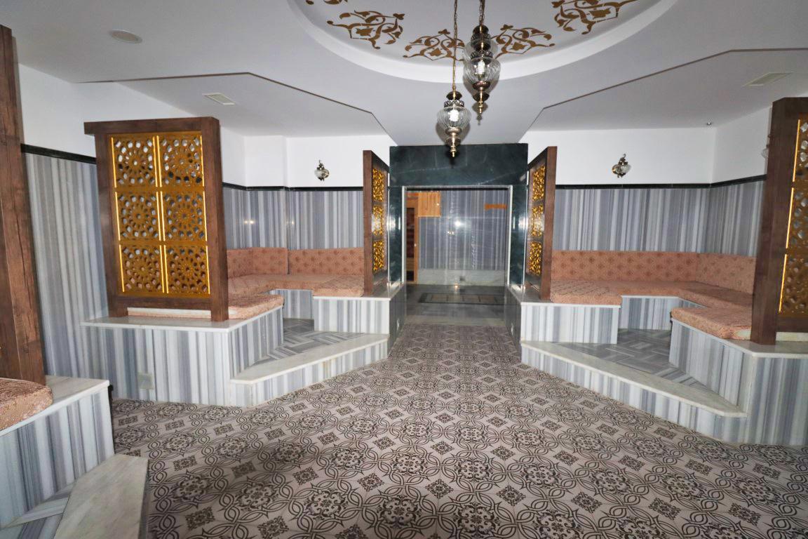 Квартира 1+1 с мебелью и техникой в комплексе люкс в Кестеле - Фото 21