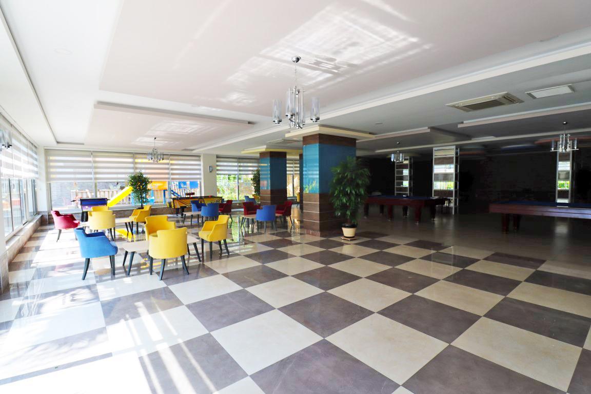 Квартира 1+1 с мебелью и техникой в комплексе люкс в Кестеле - Фото 27