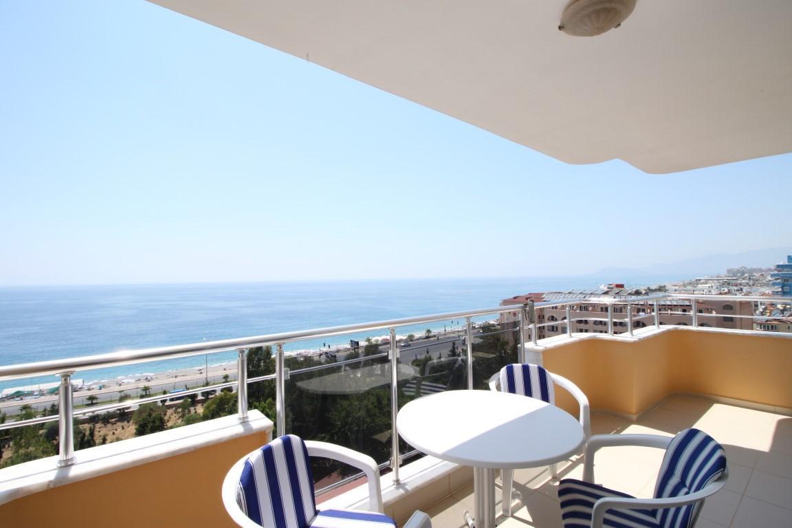 Квартира 2+1 с прямым видом на море в Махмутларе - Фото 1