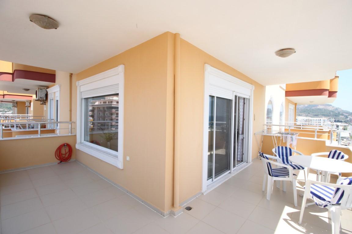 Квартира 2+1 с прямым видом на море в Махмутларе - Фото 14