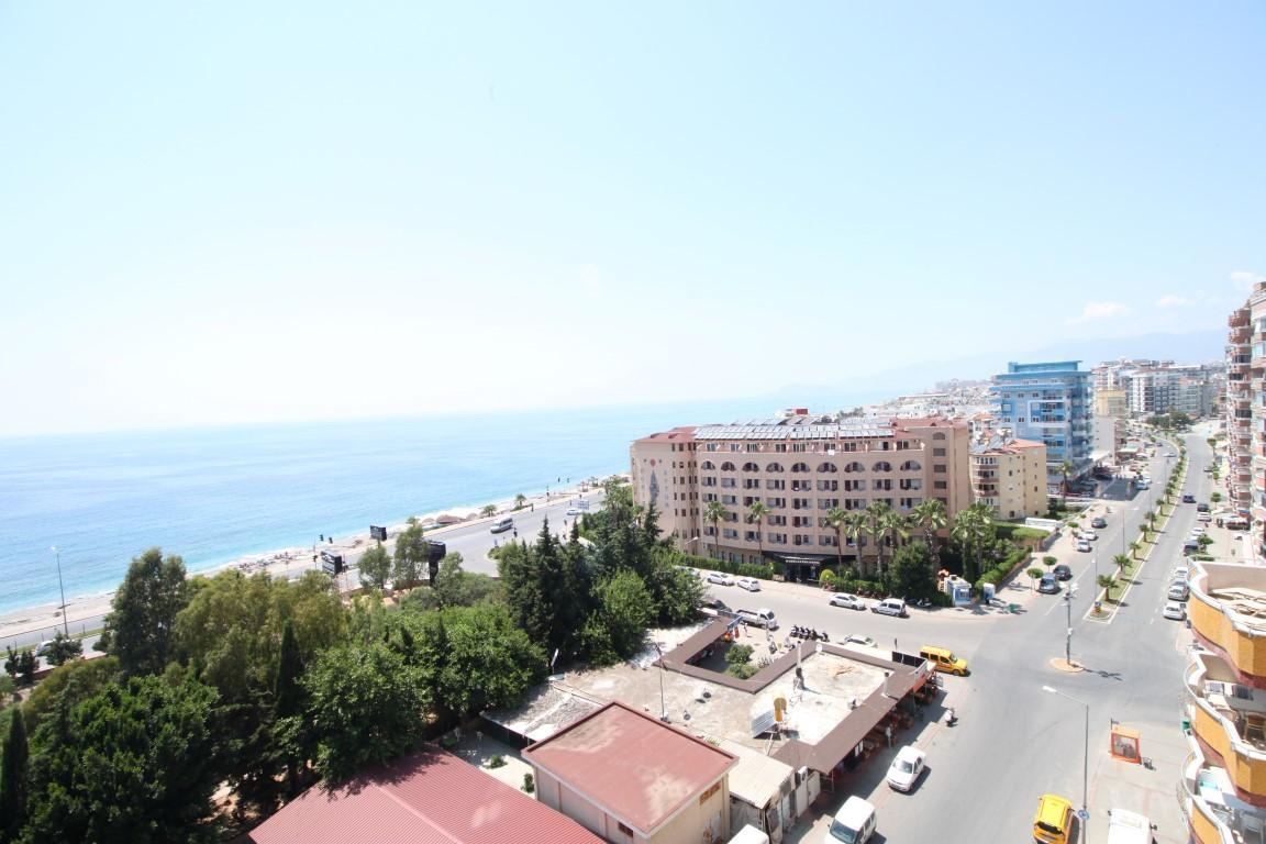 Квартира 2+1 с прямым видом на море в Махмутларе - Фото 15
