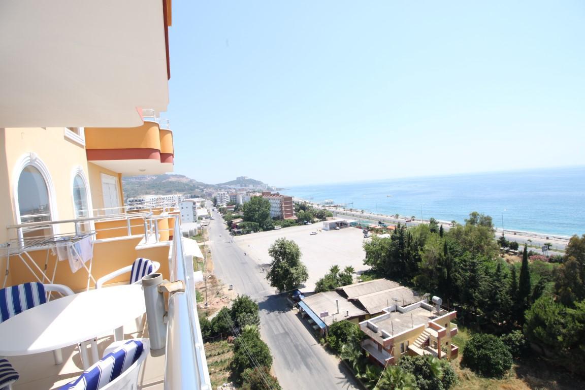 Квартира 2+1 с прямым видом на море в Махмутларе - Фото 17