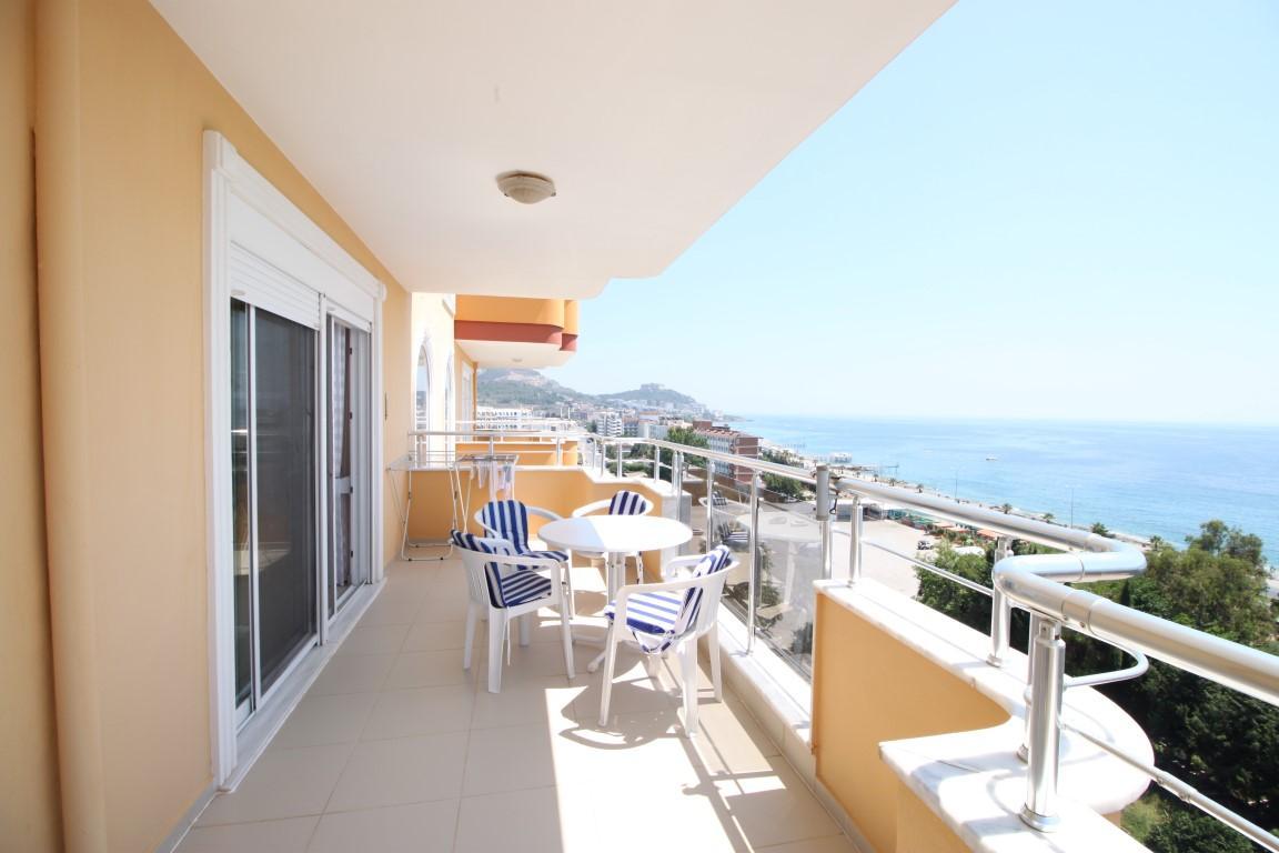 Квартира 2+1 с прямым видом на море в Махмутларе - Фото 18