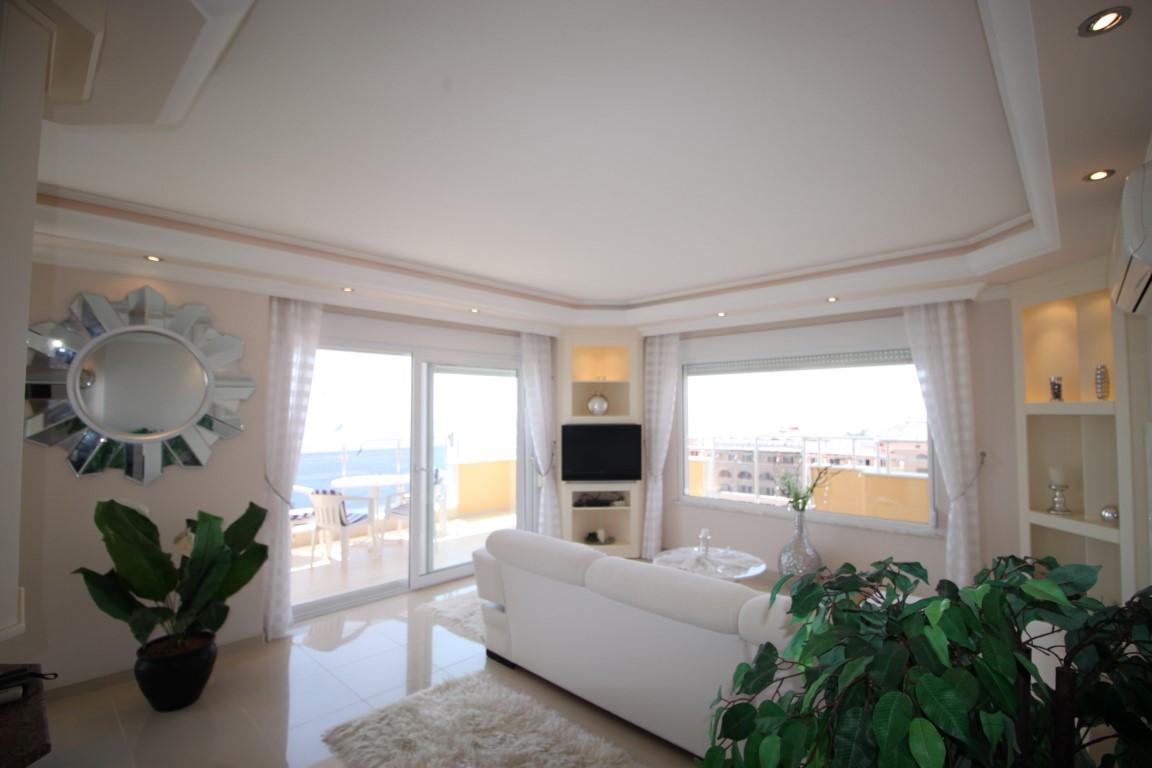 Квартира 2+1 с прямым видом на море в Махмутларе - Фото 10