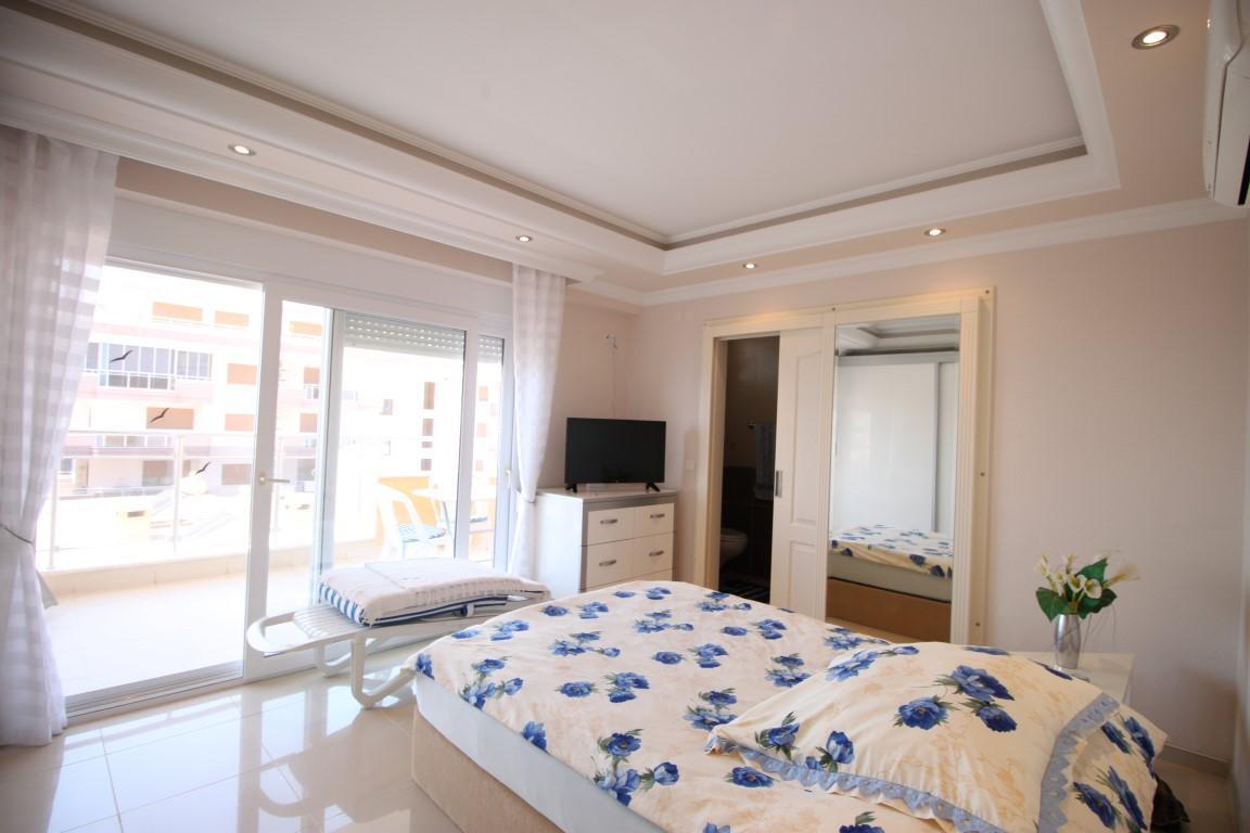 Квартира 2+1 с прямым видом на море в Махмутларе - Фото 12