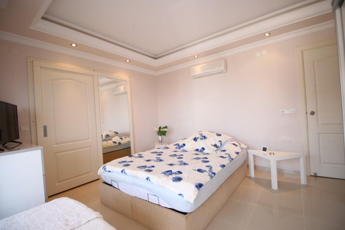 Квартира 2+1 с прямым видом на море в Махмутларе - Фото 13