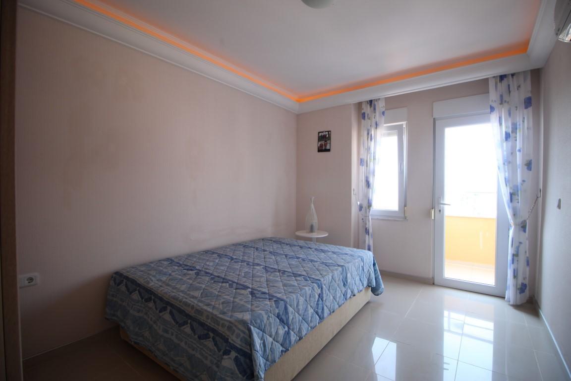 Квартира 2+1 с прямым видом на море в Махмутларе - Фото 11